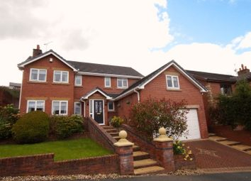 Thumbnail 5 bed detached house for sale in Oak Alyn Court, Cefn Y Bedd, Wrexham