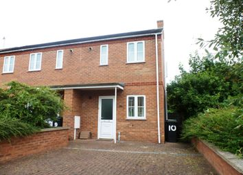 Thumbnail 2 bed semi-detached house to rent in Viking Court, Bracebridge Heath, Lincoln