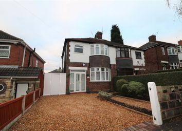 Thumbnail 3 bed semi-detached house for sale in Birchgate, Bucknall, Stoke-On-Trent