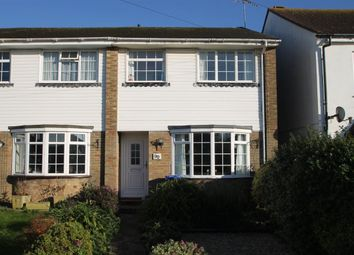 Thumbnail 3 bedroom property to rent in Cross Road, Southwick Brighton, West Sussex