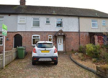 Thumbnail 3 bed terraced house for sale in Longslow Road, Market Drayton