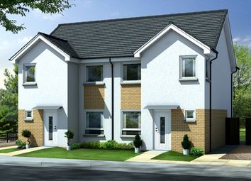 Thumbnail 3 bed semi-detached house for sale in Kirn Drive, Gourock