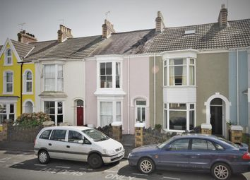 Thumbnail 3 bed terraced house for sale in Victoria Avenue, Mumbles, Swansea