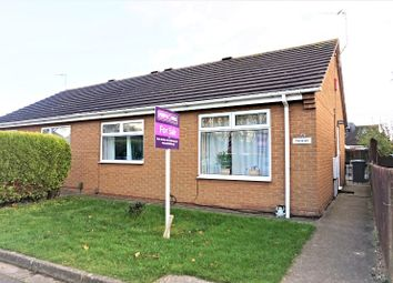 Thumbnail 2 bed semi-detached bungalow for sale in Stewards Way, Bracebridge Heath