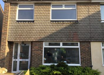 Thumbnail 3 bed semi-detached house to rent in Cedar Close, Salvington, Worthing, West Sussex