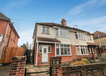 Thumbnail 3 bedroom semi-detached house for sale in Twyford Avenue, Shirley, Southampton