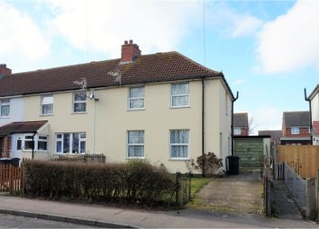 Thumbnail 3 bed terraced house for sale in Kings Road, Alyesham, Canterbury