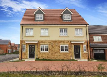 Thumbnail 4 bed semi-detached house for sale in Hotspur North, Backworth, Newcastle Upon Tyne