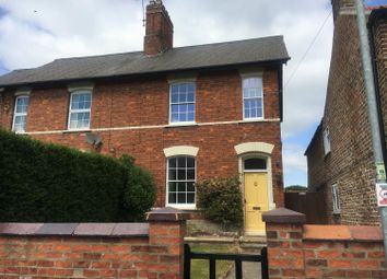 Thumbnail 2 bed semi-detached house to rent in Newton On Ouse, York