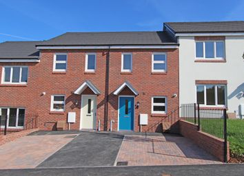 Thumbnail 2 bed terraced house for sale in Bowling Green View, Cullompton