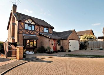Thumbnail 4 bed detached house for sale in Burystead Rise, Raunds, Wellingborough
