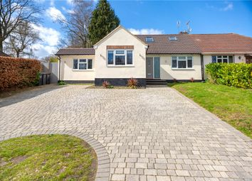 Thumbnail 4 bedroom semi-detached bungalow for sale in Harpesford Avenue, Virginia Water, Surrey