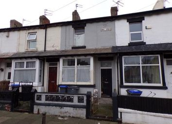 Thumbnail 2 bedroom terraced house for sale in Wall Street, Blackpool, Lancashire