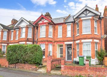 Thumbnail 3 bed terraced house for sale in Surrenden Road, Folkestone, Kent