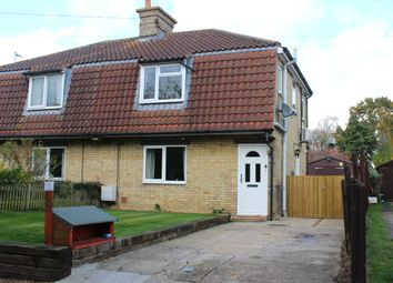 Thumbnail 3 bedroom semi-detached house for sale in Mill Lane, Woolpit
