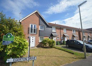Thumbnail 1 bed semi-detached house to rent in Hewitt Road, Basingstoke