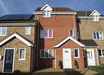 Thumbnail 4 bed town house for sale in Foundry Court, North Walsham