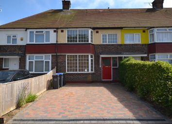 Thumbnail 3 bed terraced house to rent in Sackville Road, Broadwater, Worthing