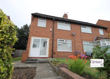 Thumbnail 3 bed semi-detached house to rent in Ventnor Gardens, Gateshead