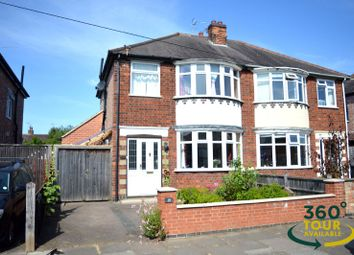 Thumbnail 3 bed semi-detached house for sale in Northfold Road, Knighton, Leicester