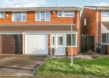 Thumbnail 3 bed semi-detached house for sale in Chimes Close, Birmingham