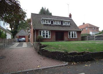 Thumbnail 3 bed detached bungalow for sale in 25 Hellesdon Road, Norwich, Norfolk