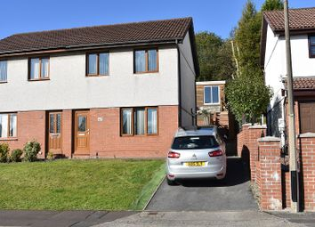 Thumbnail 3 bed semi-detached house for sale in Parc Avenue, Morriston, Swansea