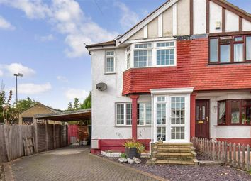 Thumbnail 3 bed semi-detached house for sale in Marina Drive, Northfleet, Gravesend, Kent