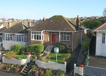 Thumbnail 2 bed detached bungalow for sale in Radford Park Road, Plymstock, Plymouth, Devon