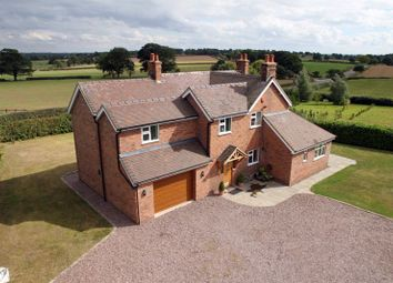 Thumbnail 4 bed detached house for sale in Sydnall Lane, Woodseaves, Market Drayton