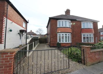 Thumbnail 2 bedroom semi-detached house to rent in Studley Road, Stockton-On-Tees