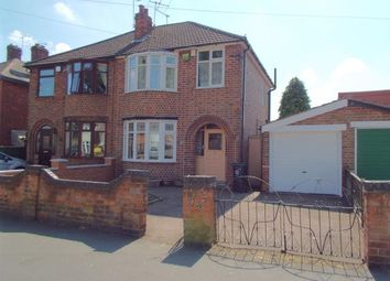Thumbnail 3 bed semi-detached house for sale in Buckminster Road, Leicester, Leicestershire