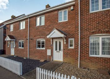 Thumbnail 3 bed terraced house for sale in Mendham Lane, Redenhall, Harleston