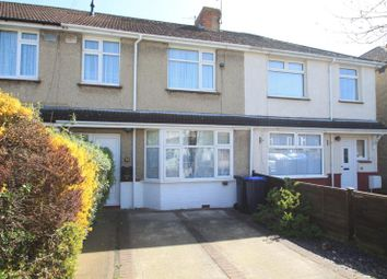 Thumbnail 3 bed terraced house for sale in Monks Close, Lancing