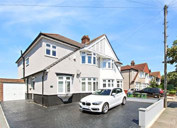 Thumbnail 4 bed semi-detached house to rent in Hurst Road, Sidcup, Kent