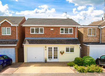 Thumbnail 4 bed detached house for sale in Bedford Close, Barton Seagrave