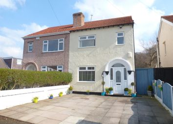 Thumbnail 3 bedroom semi-detached house for sale in Overchurch Road, Upton, Wirral