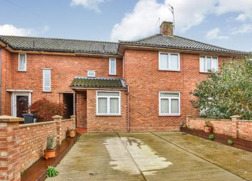 Thumbnail 3 bed terraced house for sale in Hellesdon Close, New Costessey, Norwich