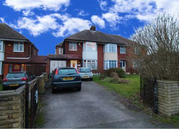 Thumbnail 4 bed semi-detached house for sale in Grasmere Road, Luton