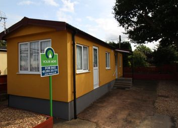 Thumbnail 1 bedroom bungalow for sale in Marlborough Drive, Ringswell Park, Exeter