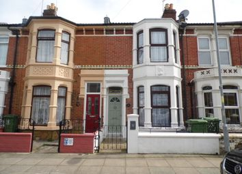 Thumbnail 3 bedroom terraced house to rent in Burlington Road, Portsmouth