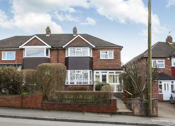 Thumbnail 3 bed semi-detached house for sale in Castle Lane, Solihull