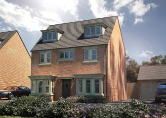 Thumbnail 5 bed detached house for sale in Fox Lane, Green Street, Kempsey, Worcester
