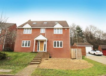 Thumbnail 6 bed detached house for sale in Broadbent Close, Rownhams, Southampton