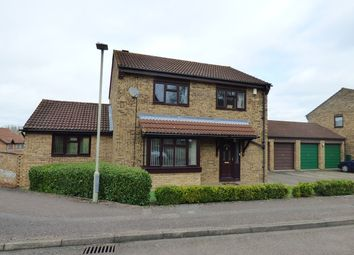 Thumbnail 4 bedroom detached house for sale in Prentice Gardens, Kempston, Bedford
