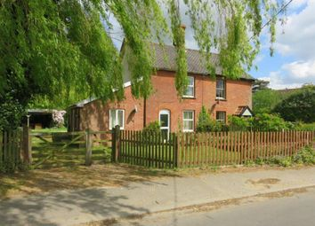Thumbnail 3 bed semi-detached house for sale in Bunwell Street, Bunwell, Norwich