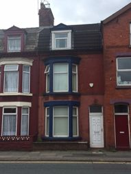 Thumbnail 5 bed terraced house to rent in Picton Road, Wavertree