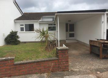 Thumbnail 2 bed bungalow to rent in Valletort Park, Brixham, Devon