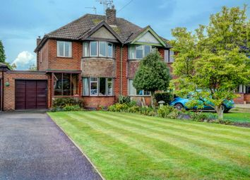 Thumbnail 3 bed semi-detached house for sale in Withybrook Road, Bulkington, Bedworth