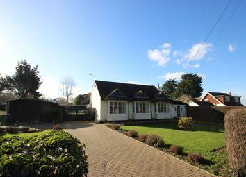 Thumbnail 3 bed detached bungalow for sale in Bells Hill Road, Vange, Basildon